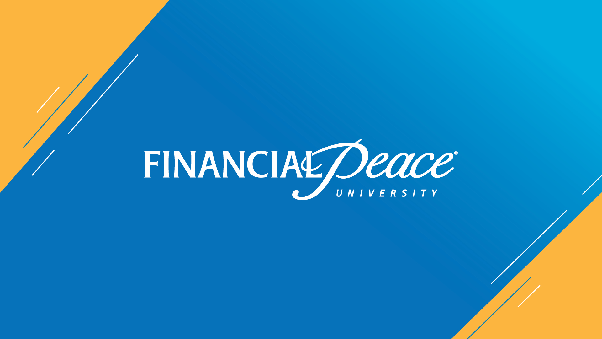 Financial Peace – Classes